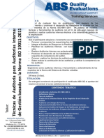 Tecnicas Auditoria Interna de Sistemas Gestion Iso 19011