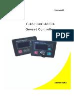 Gu3303 Controller Manual