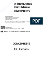 CT Dc Circuits