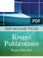 Kregel Publications Winter 2010-2011