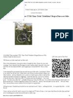 2010 BMC Time Machine TT02 Time Trial_ Triathlon Ultegra_Dura Ace Bike - Bicycles - By Owner - Bike Sale