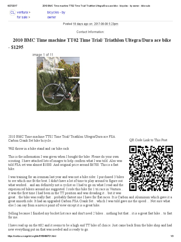 2010 BMC Time Machine TT02 Time Trial_ Triathlon Ultegra_Dura Ace