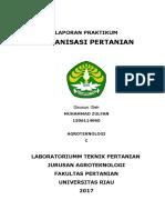 Laporan Akhir Praktikum Mekanisasi Pertanian