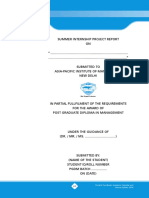 Sip Guidelines Pgdm 2016-18 Batch