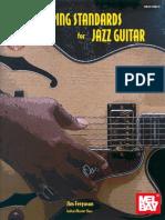 Jim Ferguson Comping Standards for Jazz Guitar