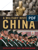 A Military History of China [David Graff, Robin Higham]