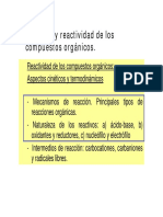 Mecanismos Acidez Basicidad Nucleofilia