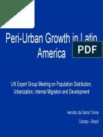 Peri-Urban Growth in Latin America