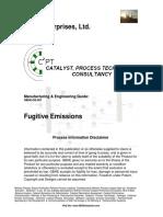 Fugitive Emissions