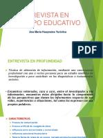 Entrevista en El Campo Educativo
