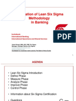 20141127 Application of Lean Six Sigma Methodology Application in Banking FINAL