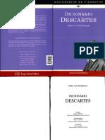 Dicionário Descartes - John Cottingham