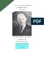 1- Toute La Radiesthesie en Neuf Lecons - Maurice Le Gall - Edition 1985