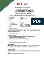 Silabus Alas Doctorado 3 a 2013