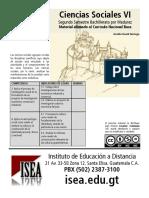 Ciencias Sociales Bachillerato 6