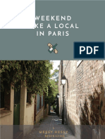 E Guide Weekend Like a Local in Paris MessyNessyChic