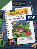 Carti. Caiet.pentru.timpul.liber. Matematica. Clasa.1. Ed.paralela.45. TEKKEN