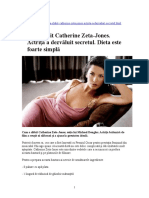 Dieta-Reteta Catherine Zeta Johnes