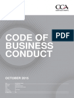 CCA Amital Code of Business Conduct