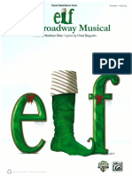 ELF the Broadway Musical Songbook Copy