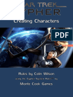 ST Cypher Book 1 Characters