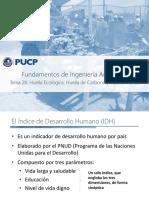 Tema 27 - Huella Ecológica, Hídrica, De Carbono e IDH
