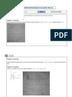 Examen Final de Cálculo II