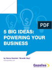 5 Big Ideas Powering Your Business