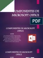 COMPONENTES DE MICROSOFT OFFICE - VERONICA DIAZ