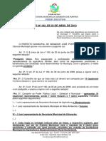 Nº 182 - Altera a Lei nº 160 - CMDRS.docx