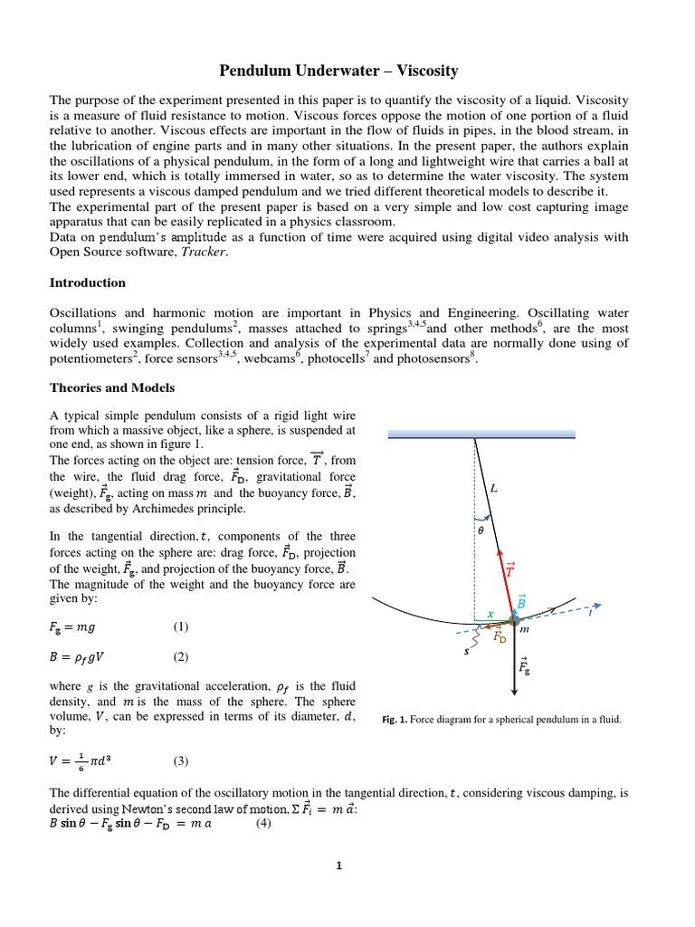 Artigo Do Leme Agostinho Enviado 13julho Viscosity Drag Physics Rigid Light Wiring Diagram