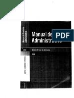 Dadm Bok Manual Processo Administrativo m Aroso Almeida