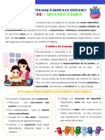 tips habitos de estudio kinder a 2° básico Ximena