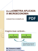 2. Estimação Econometrica de Funções Demanda - Módulo Teórico