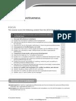 F1-23 Personal Effectiveness