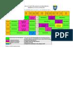Jadual Waktu Pelaksanaan Praktikum 1 Bimbingan Dan Kaunseling