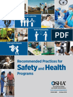 OSHA SHP Recommended Practices for Safety Program