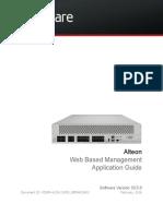 WEB UI Application Guide