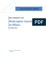 Feasibility Report on Air taxi Tourism