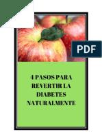 4 Tips Para Revertir La Diabetes Rapidamente