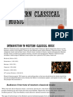 western classical music overview 2