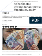 Hong Kong Banknotes Breeding Ground for Antibiotic-resistant Superbugs, Study Finds _ Post Magazine _ South China Morning Post