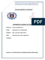 Unidad II, Adm. de Operaciones