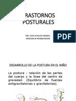 TRASTORNOS POSTURALES UNPRG