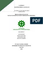 FIX Cover Laporan on Job Training PT. Profab NOV Indonesia