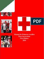 Primeros Auxilios Básicos para voluntarios de Cruz Roja. 2016.pdf