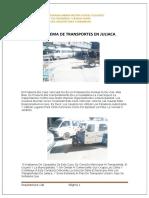Problema de Transportes en Juliaca