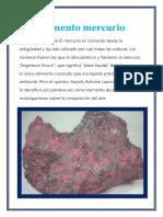 Elemento Mercurio