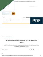 5 Razones Por Las Que Elon Musk Está Escribiendo El Futuro _ Formación Ejecutiva _ Diario Financiero