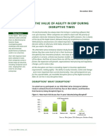 ISM - The Value of ERP Agility in Disruptive Times White Paper